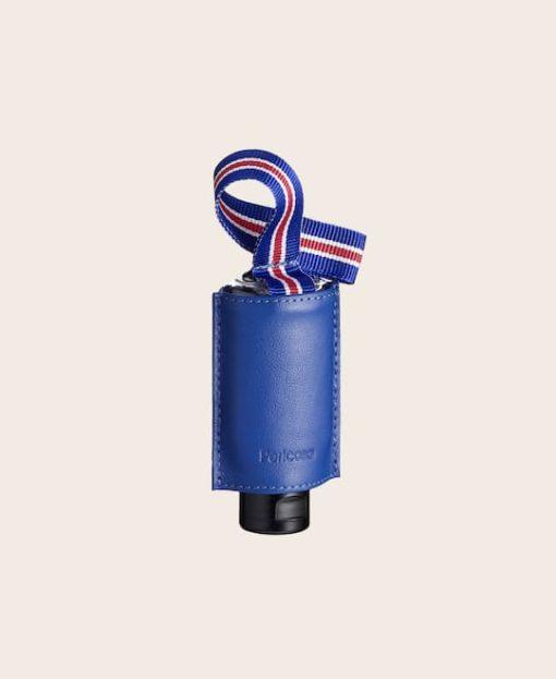 Hygiene-Handgel RefreshME Leder-Etui CarryME-Set PURE electric-blue