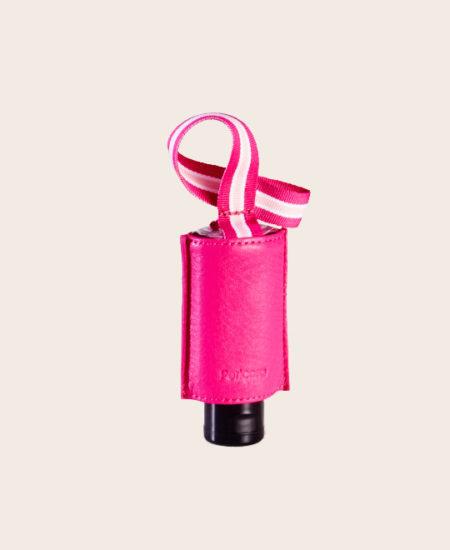 CarryME-Set PURE pink Hygiene-Handgel Taschenanhänger