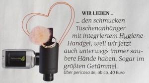 FÜR SIE CarryME-Set DELUXE Taschenanhänger Handgel
