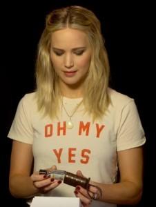 Jennifer Lawrence Taschenanhänger Handgel