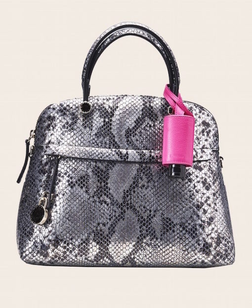 Hygiene Handgel Taschenanhänger pink Tasche Schlange