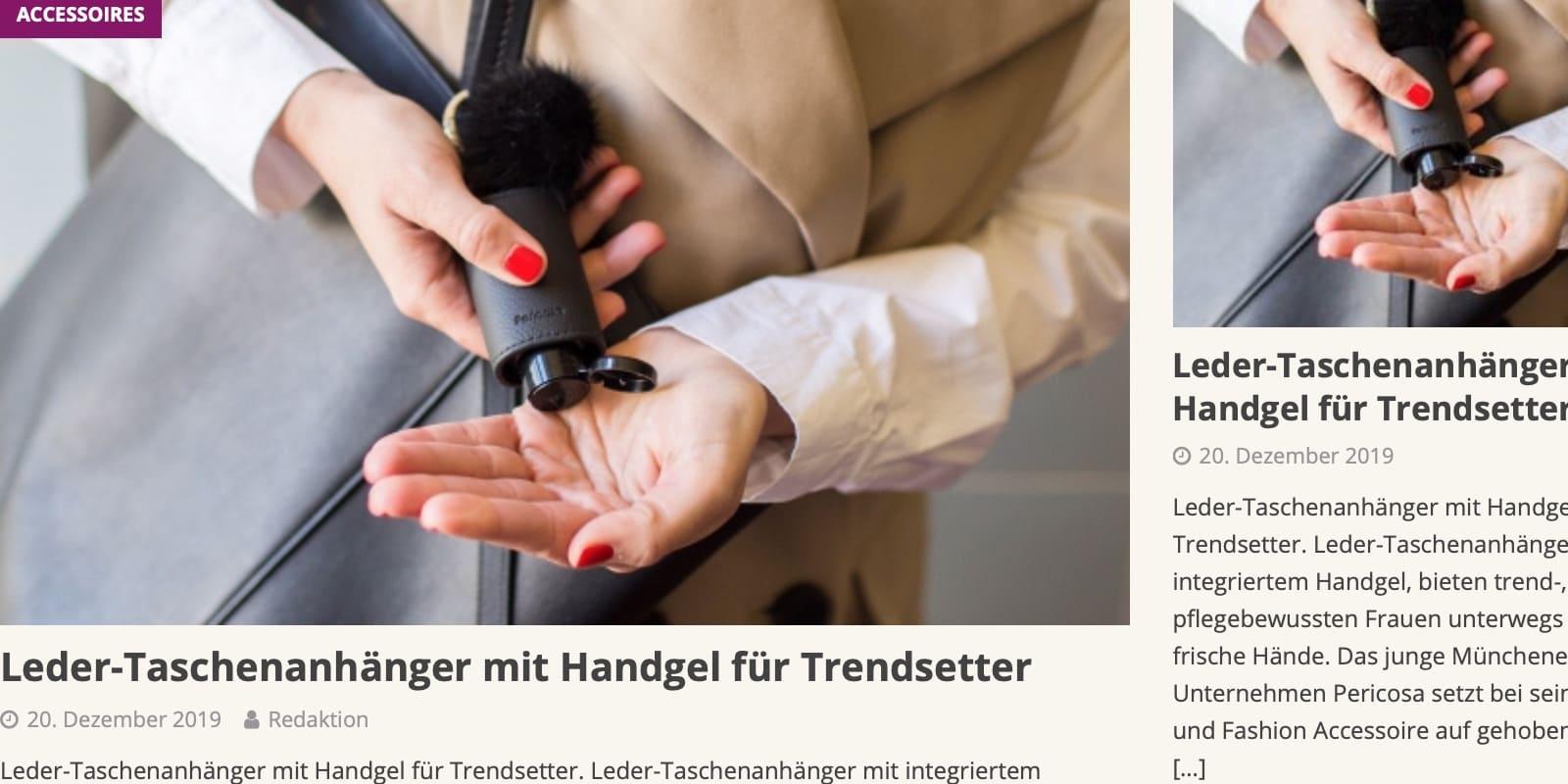Hygiene Hand Gel parfuemerienachrichten Trend
