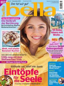 Hygiene Handgel Leder Taschenanhänger bella Magazin