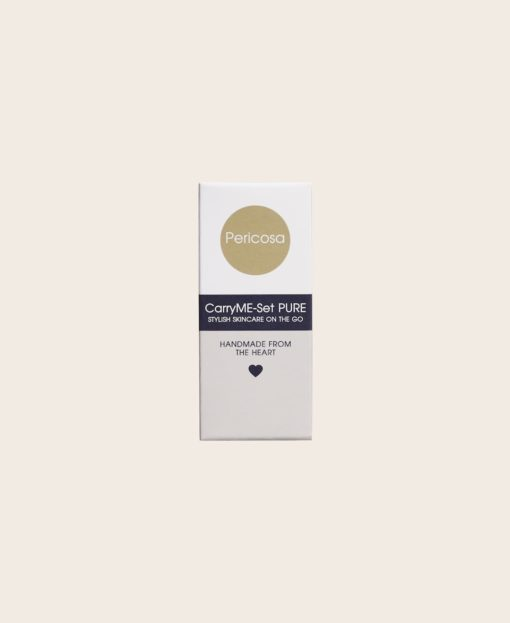 Hygiene Handgel RefreshME Leder-Etui Verpackung CarryME-Set Pure