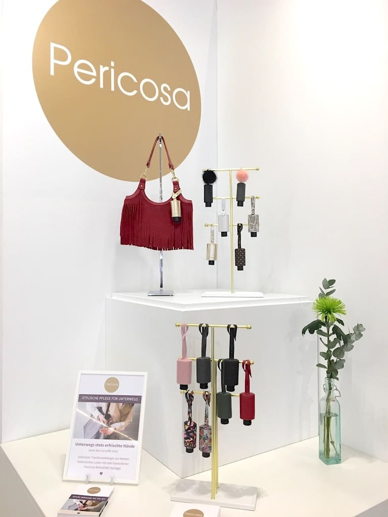 Pericosa ambiente Frankfurt Stand CarryME-Set