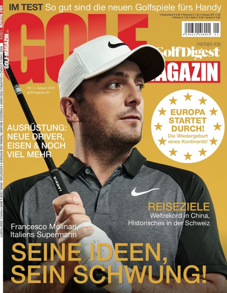 Pericosa Golf Magazin Luxus Accessoire