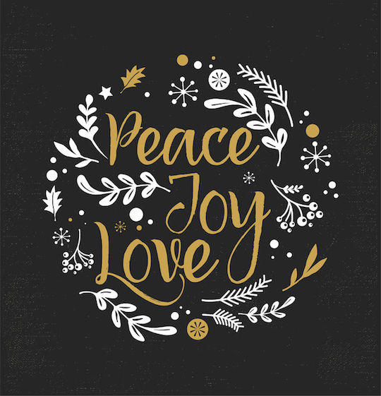 Peace, Love and Joy